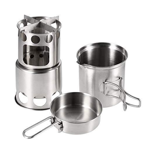 Campo de las estufas de gas del horno que acampa portable