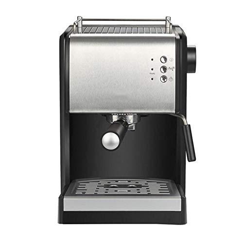 HBBenz Volautomatische koffiemachine, 1,5 liter waterreservoir, 15 bar pompdruk, melkschuimmondstuk, uitneembare zetgroep, geschikt voor gezinnen, kantoor