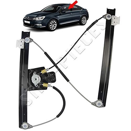 STARKIT PERFORMANCE Mecanismo elevalunas el/éctrico Delantero Izquierdo del Conductor para Ford Fiesta 3 Puertas de 2001 a 2008
