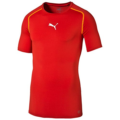 PUMA Herren T-shirt TB Short Sleeve Tee Red, L