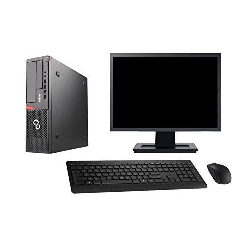 Fujitsu Pc Esprimo E720 E85+ SFF Bildschirm 27'' G3220 Ram 16 Gb 120 Gb SSD Wifi W7