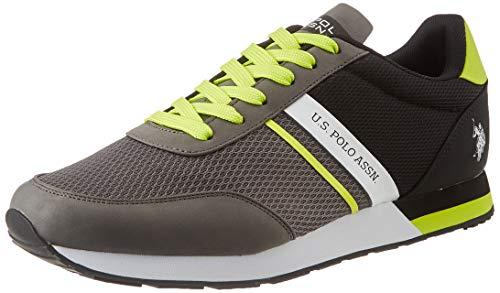U.S. POLO ASSN. Brandon, Sneaker Uomo, Multicolore (Grey/Blk 031), 42 EU
