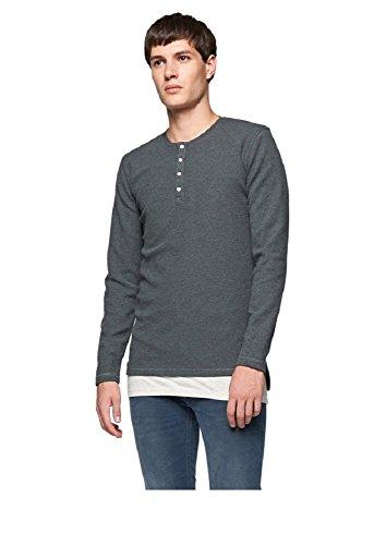 Minimum T-Shirt Truxton Manches Longues Gris S