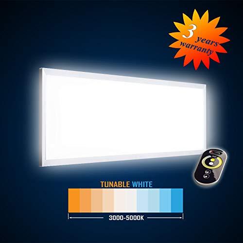 Mextronic LED Panel Deckenpanel Wandpanel LED Hängepanel 1195x295 42W (S) TUNABLE WHITE (3000-5000K) Dimmbar