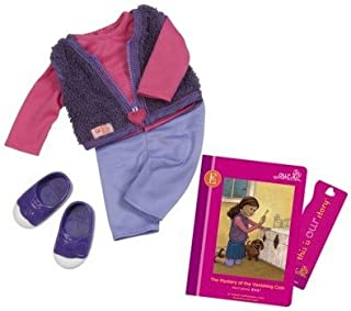Eva's Read and Play Set (Book and Outfit) Our Generation