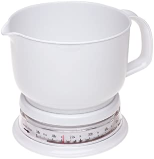 Salter 5-Pound Add and Weigh Kitchen Scale with Jug, White