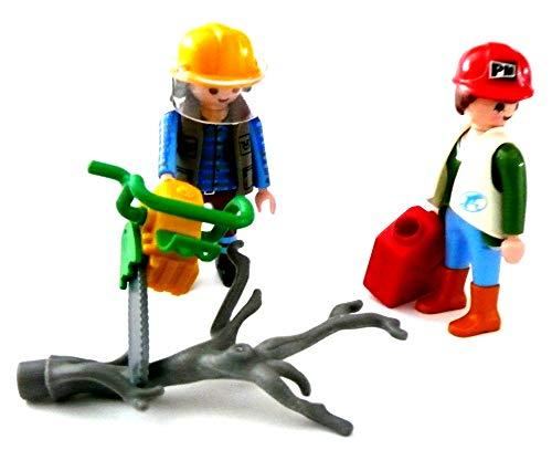 playmobil ® - Mann Waldarbeiter mit Kettensäge