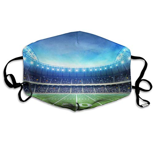Polyester Anti-Dust Mond Masker - Kittens Gewassen Herbruikbare Mond-Muffle - Mode Gedrukte Gezichtsmaskers voor Outdoor Fietsen Eén maat Cool voetbal sportstadion