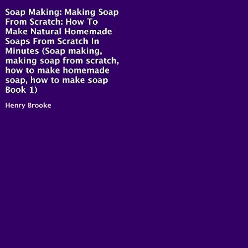 Soap Making audiobook cover art