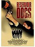 JIUBING Leinwand Poster Quentin Tarantino Serie Filmplakat