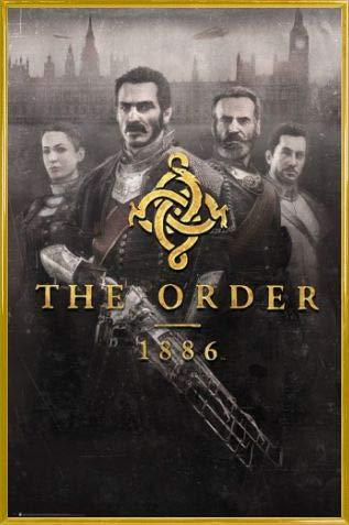 1art1 The Order 1886 Poster Stampa e Cornice (Plastica) - Key Art (91 x 61cm)