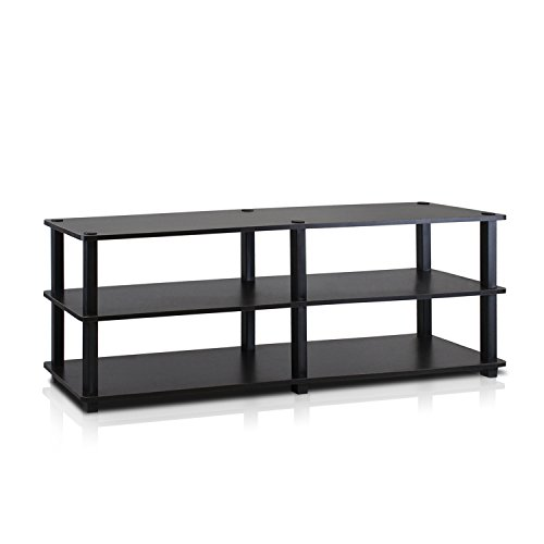 Furinno Turn-S-Tube No Tools 3-Tier Entertainment TV Stands,...