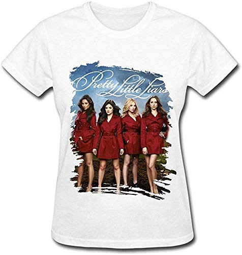 Mystery Tv Series Pretty Little Liars Poster T Shirt for Women