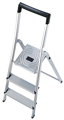 Hailo 5_8943-001 - Seguridad del hogar escalera Alu L40 3 pasos