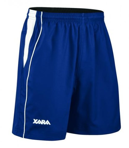 Xara International Soccer Short - Youth Medium, Navy/White