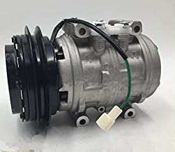 GOWE A/C AC Aircon Air Conditioning Compressor Cooling Pump 10P13C with Clutch Pulley PV1 Pulley for Hino FD FF FM FT GD GT Truck