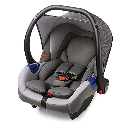 Hot Mom Baby Sillas de coche Car Seat Group 0+ (0-13 kg), Gris