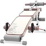 W.KING Adjustable Bench Sit Up AB, Pieghevole Panca Declino con Reverse Crunch Maniglia per Home Gym...