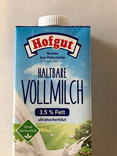 Hofgut Haltbare Vollmilch, 12er Pack (12 x 1 l)