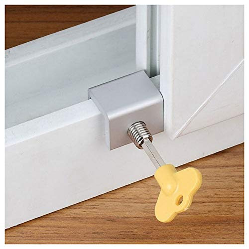 2 stuks schuifvleugel Stopper kabinet sloten deur en raam Lock Limiter Window Lock Vertaling Schermslot Child Window Security Lock