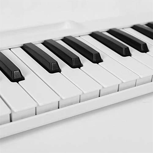 Ning Night 88-Key-Bewegliches Faltende Klavier-Praxis Tastatur Splicing Klavier Smart-Hand Gerollt Elektronisches Klavier Anfänger Schwarz/Weiß