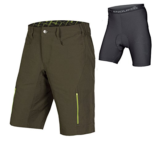Endura SingleTrack III Baggy Cycling Short with Liner