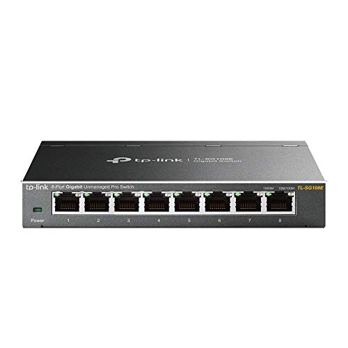 TP-Link TL-SG108E Unmanaged PRO Switch