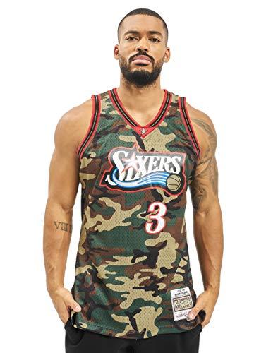 Mitchell & Ness Herren Trikots NBA Philadelphia Camouflage 2XL