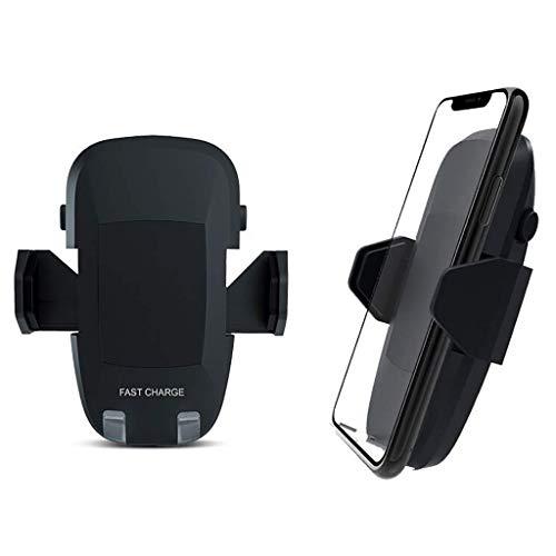 DIELUNYChargeurVoitureSans FilRapide,ChargeurAutomatique&agrave;Puertas deinducción:teléfono, para iPhone XS MAX/XS/XR/X / 8/8 Plus