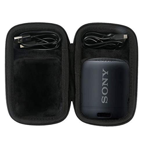 co2CREA Voyage Stockage Porter Étui Housse Case pour Sony SRS-XB12 Enceinte Portable Bluetooth(Speaker Case)