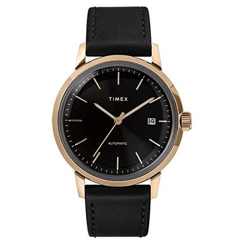 Orologio Timex Automatico Collezione Marlin Cassa Gold Oro Diametro 40 mm...
