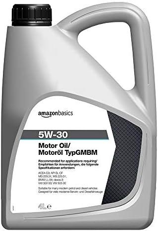 Amazon Basics Motorenöl 5w 30 Typ Gmbm 5 L Auto