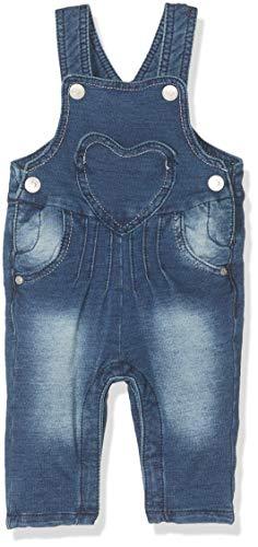 Kanz Baby - Mädchen Latzhose, Blau (Blue Denim|Blue 0013), 68