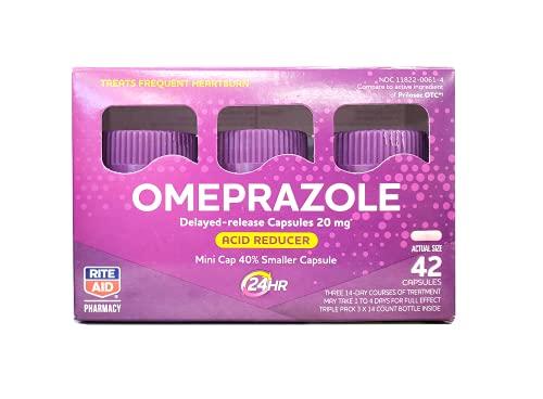 Rite Aid Acid Reducer Omeprazole Delayed Release...