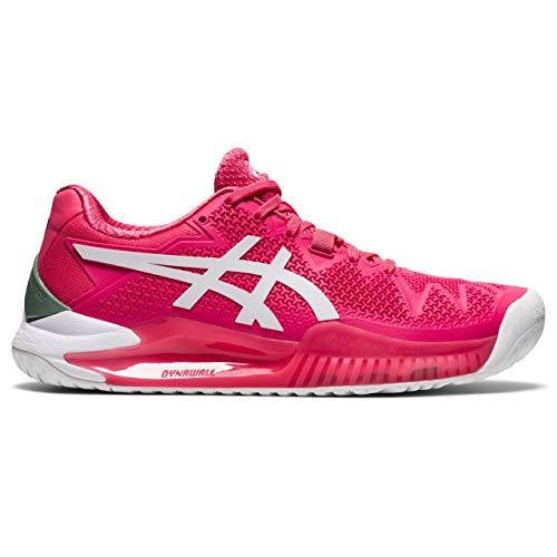 ASICS Gel-Resolution 8, Zapatos de Tenis Mujer, Pink Cameo White, 41.5 EU