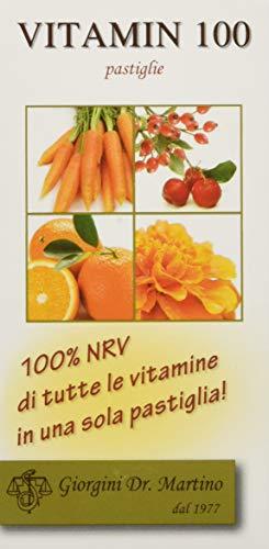 Dr. Giorgini Integratore Alimentare, Vitamin 100 - 60 Pastiglie - 30 g