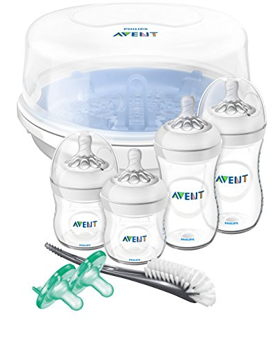 Philips Avent Natural Baby Bottle Essentials Gift Set, SCD208/01