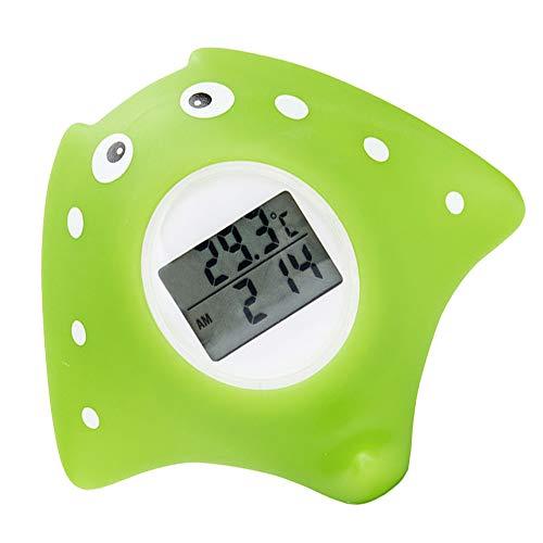 Badethermometer Baby, digitales Wasserthermometer Baby für sicheres Baden, Badwannenspielzeug für Babys,Kunststoff, Fisch Design