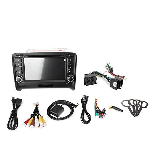 Auto Bluetooth MP5 Speler Navigatie, Autoradio Navigatie GPS Navigatie 7in 2Din Auto Multimedia MP5 Speler Bluetooth Radio Navigatie Fit voor TT RS/TTS(2+16)