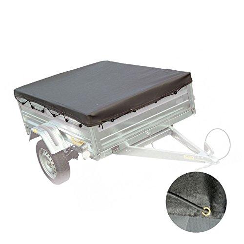 Abdeckung für Anhänger, Schutzplane, wasserdicht 200x 120x 7cm-2452