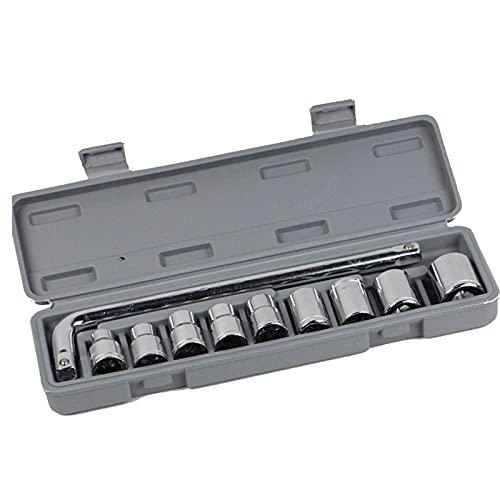 PANGTOU Herramientas de reparación de automóviles 10 In1 Llave Socket Reparación Caja de Herramientas Conjunto Rápido Multifunción Tornillo Descarga Herramienta de Hardware