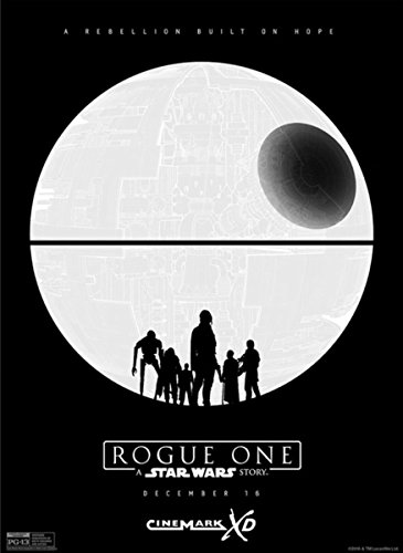 Rogue One A Star Wars Story IMAX 13x19 Original Promotional Movie Poster 2016 - D