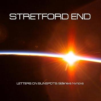 Letters on Sunspots: Siderevs Nvncivs