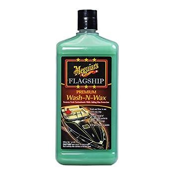 MEGUIAR S M4232 Flagship Premium Wash-N-Wax 32 fluid ounces