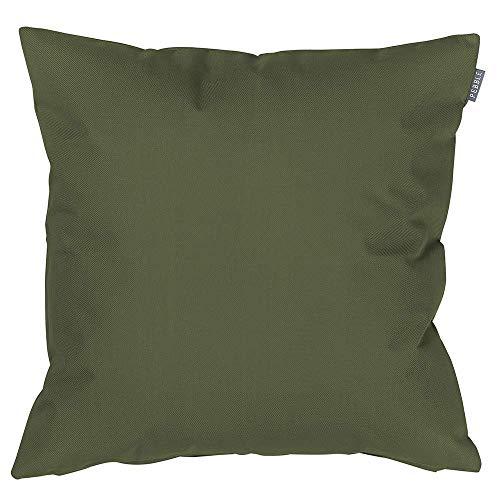 Bean Bag Bazaar Coussins d'extérieur - 43cm x 43cm - Sauge Vert - Remplis en Fibre Douce, imperméable – Coussins dispersions décoratifs idéal pour Banc de Jardin, Chaise et canapé