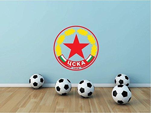 CSKA Sofia Bulgaria Soccer Football Sport Home Decor Art Wall Vinyl Sticker 55 x 55 cm