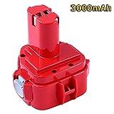 3.0AH Ni-MH de Repuesto para Makita 12V Bateria PA12 1220 1222 1233 1234 1235 1235B 1235F 192696-2...