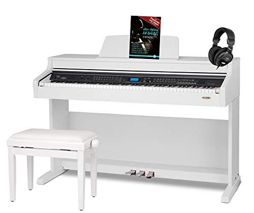 Classic Cantabile DP-A 410 WM Pianoforte digitale SET bianco opaco