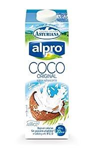 Alpro Central Lechera Asturiana - Bebida de Coco UHT con Arroz, 100% Vegetal, Enriquecida con Calcio, Apta para Veganos, Brik de 1 litro - 1 x 1000ml