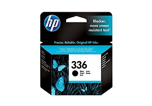 HP Cartucho Negro de inyección de Tinta 336 336 Inkjet Print Cartridges, 20 a 80% HR, de 15 a 35°C, de 15 a 32 °C, del 5 al 95% de HR, 116 x 36 x 115 mm, 0.06 kg (0.132 Libras)